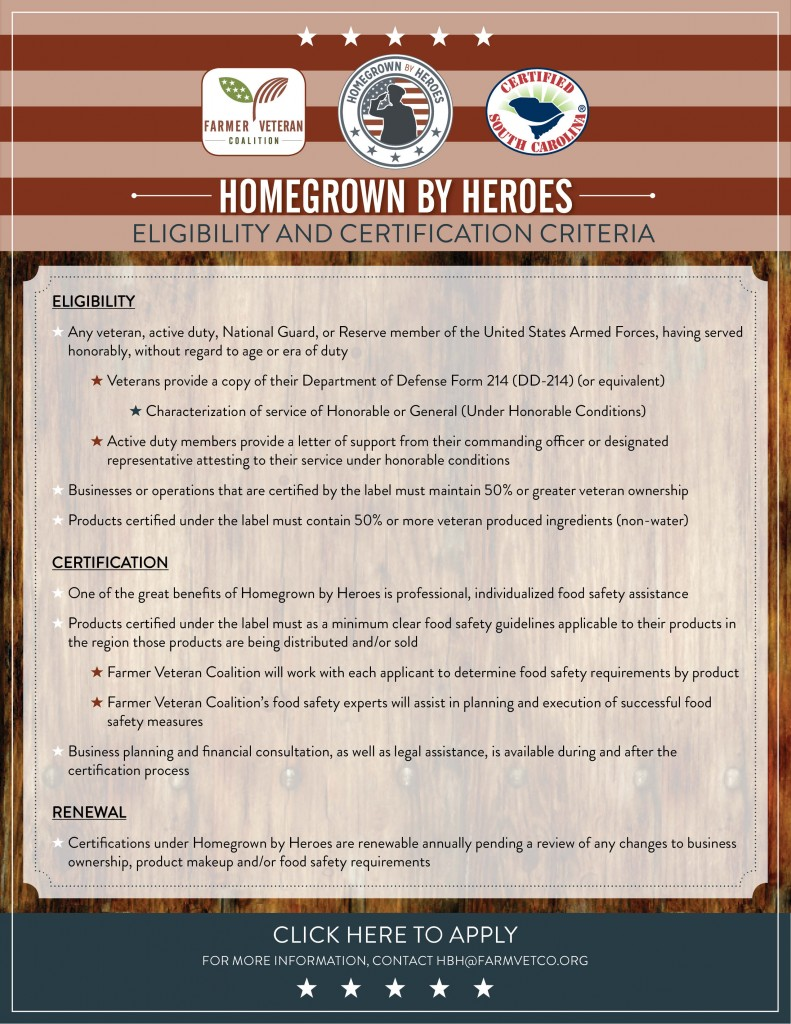 Homegrown By Heroes Flyer