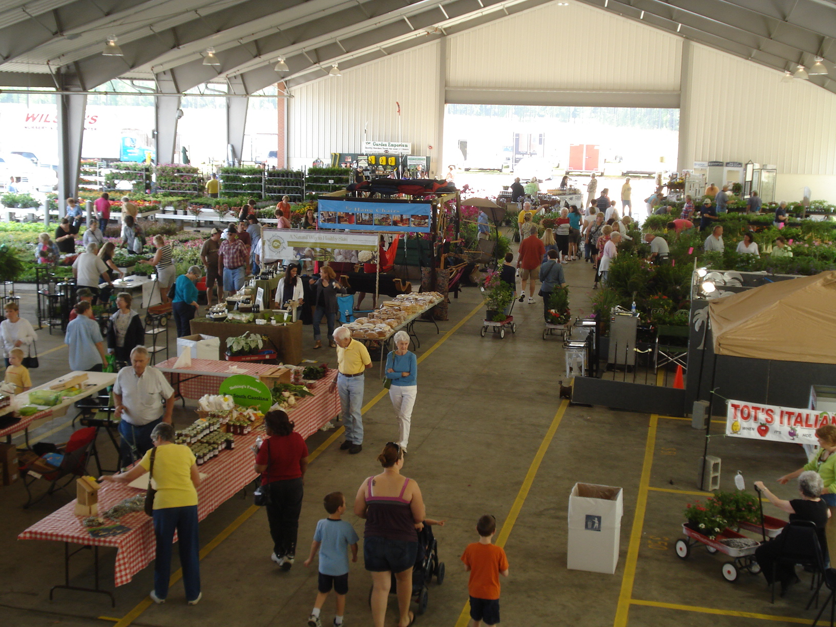 South carolina state farmers market south carolina for Indoor gardening market size