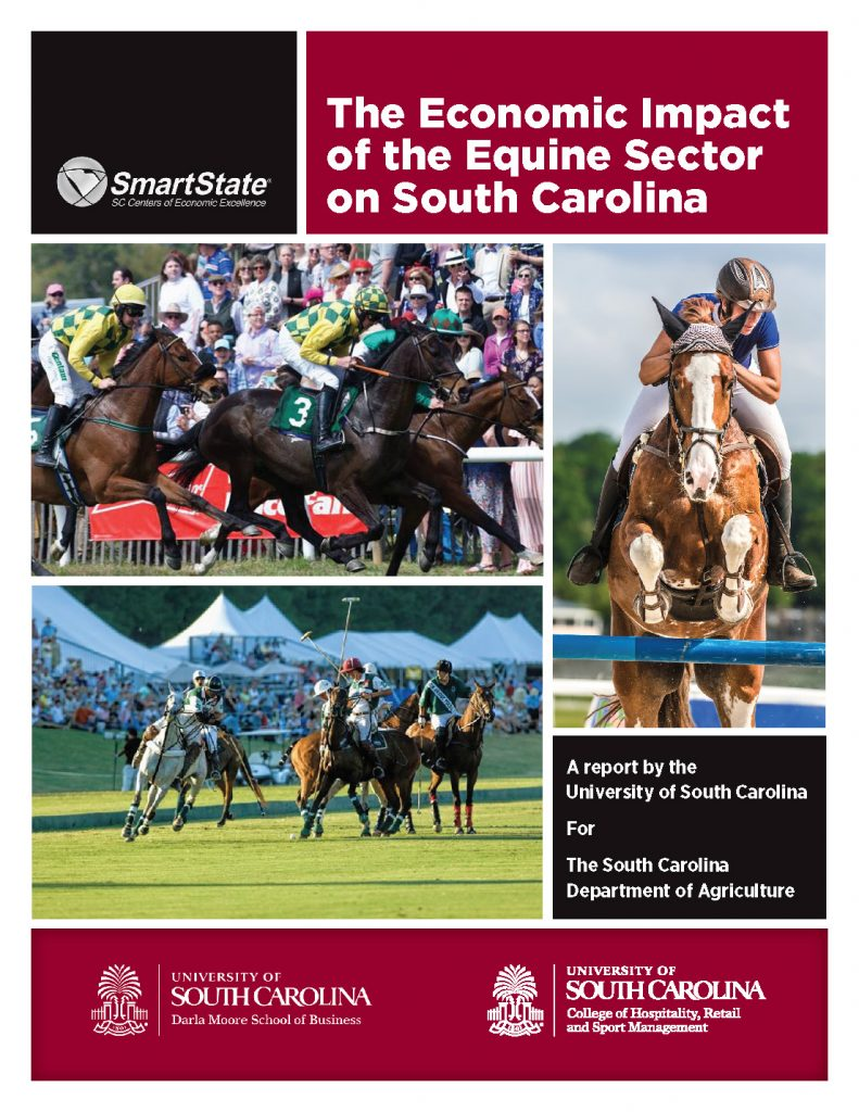 2019 Equine Impact Study Cover